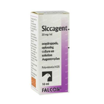 Siccagent Larmes Artificielles 10 ml