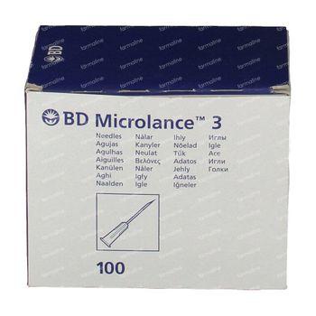 BD Aiguille Jetable Mic 30g 1/2 0.30x13 100 pièces
