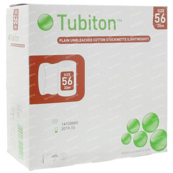 Tubiton Verb Tube 7,5cm x 21m 56 2407 1 pièce