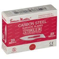 Swann Morton Bistouris Lames Stérile N23 100 st