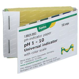 Papier Indicateur pH 1-10 M95250003 100 pièces