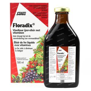 Salus Floradix IJzer-Elixir 500 ml
