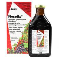 Salus Floradix Élixir de Fer 500 ml