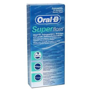 Oral B Dental Floss Superfloss 50 m