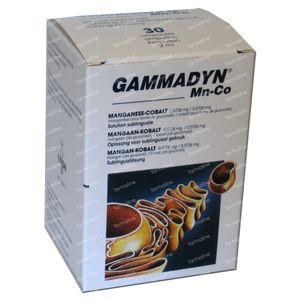 Unda Gammadyn MN CO 30 ampoules