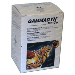 Unda Gammadyn MN CO 30 St ampoules