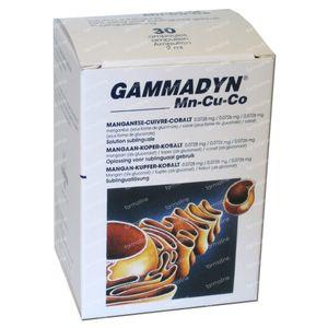 Unda Gammadyn MN CU CO 30 St ampoules
