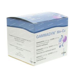 Unda Gammadyn MN CU 30 ampoules
