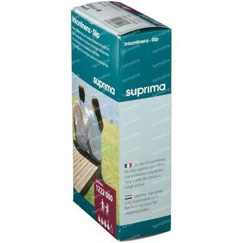 Bota Suprima 1222 Slip PVC + Pressions + Poche Unisex Blanc T50 1 slips