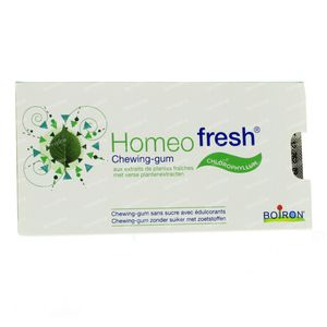 Homeofresh Chewing Gums Bioactivum Chlorophyl Without Sugar 12 St