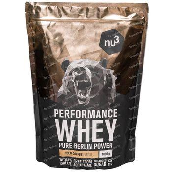 nu3 Performance Whey Iced Coffee Poeder 1000 g