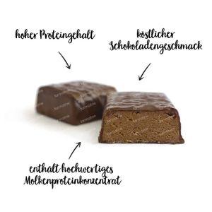 nu3 Protein Bar Chocolat 12x50 g