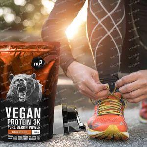 nu3 Vegan Protein 3K Chocolade 1 kg poeder