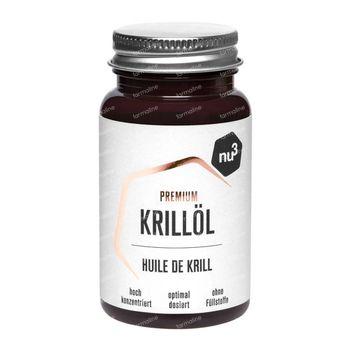 nu3 Premium Krillolie 60 capsules