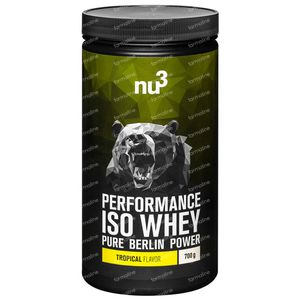 nu3 Performance Whey Isolate Tropical Poudre 700 g