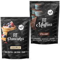 1 X Nu3 Fit Pancakes + 1 X Fit Muffins 1  shaker