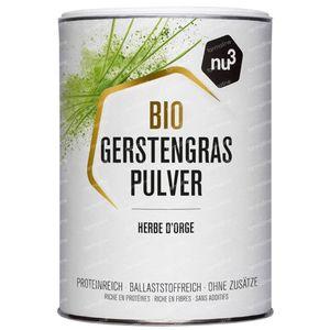 nu3 Bio Poudre D'herbe D'orge 200 g