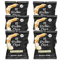 nu3 Fit Protein Chips Sour Cream & Onion 6x50 g