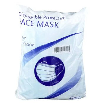Masque de Protection 3 Couches 50 pièces
