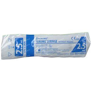 Seringue Jetable 2,5 ml Terumo Sans Aiguille 02s 10 pièces