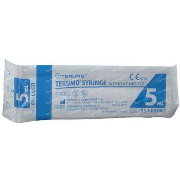 Wegwerpspuit Terumo Spuit Zonder Naald Luer 5 Ml Ss-05se1 10 stuks