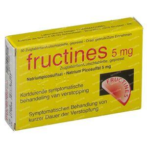 Fructines 5mg 20 tabletten