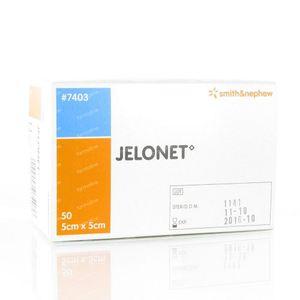 Jelonet 5cm x 5cm 50 St Compresse