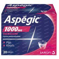 Aspégic 1000mg - Pijn 20  zakjes