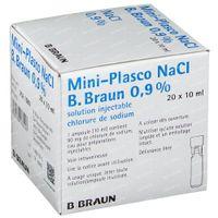 Braun Minipl NaCl 0.9% 20x10 ml