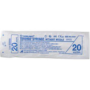 Seringue Jetable 20 ml Terumo Sans Aiguille Luer Ss-20e 1 pièce