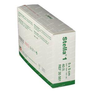 Stella 1 5cm x 5cm 40 compresses