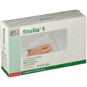Stella 1 5cm x 5cm 40 stuks Compresse