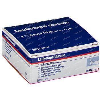Leukotape® Classic 10 m x 2 cm Blanche 01697-00 1 pièce