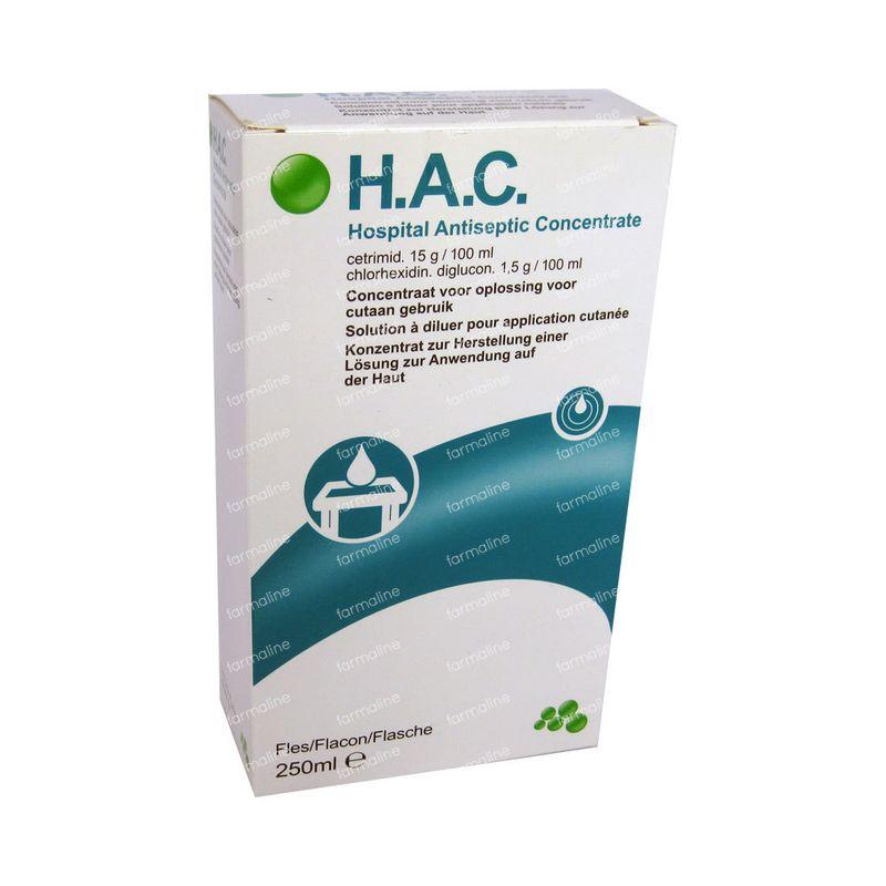 HAC 250 ml commander ici en ligne | FARMALINE.be