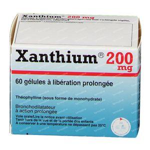 Xanthium 200mg 60 capsules