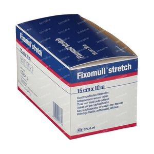 Fixomull Stretch ADH 15cm x 10m 1 stuk