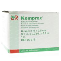 Komprex Binde 8Cmx 2M Epais 0,5Cm 1 st