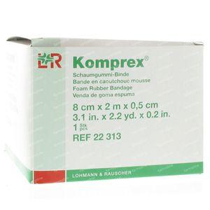 Komprex Binde 8Cmx 2M Thickness 0,5Cm 1 pieza