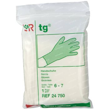 Lohmann Tg Handschoen 100% Katoen S 6-7 1 stuk
