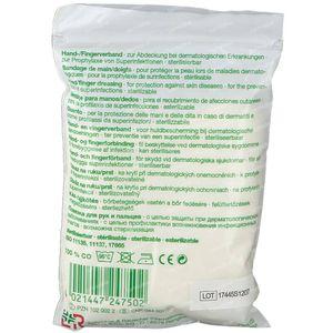 Lohmann Tg Gants 100% Coton S 6-7 1 pièce