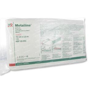 Metalline Drap Lit Steril 73cm x 2,5m 23050 1 pièce