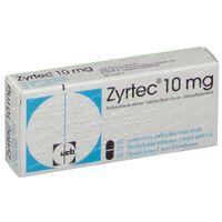 Zyrtec 10mg 20  tabletten