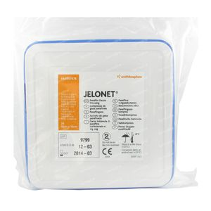 Jelonet Tin Compress 10 x 10Cm 66007478 36 compresses
