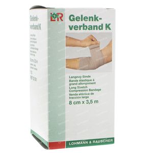 Gelenkverband Bande K 8cm x 3.5m 1 pièce
