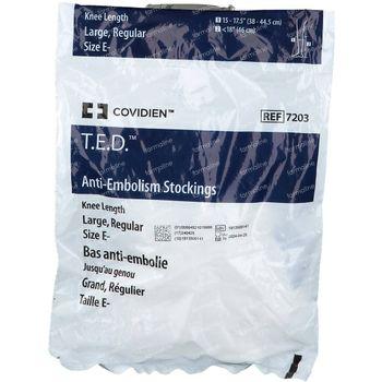 Ted Bas Genou 72030 L Regular Blanc 1 st