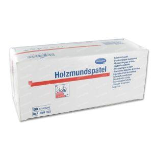 Hartmann Tongue Spatula Wood Non Sterile 9689002 100 unidades