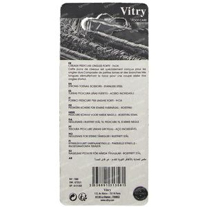 Vitry R66 Ciseaux Ongles Forts 1 pièce