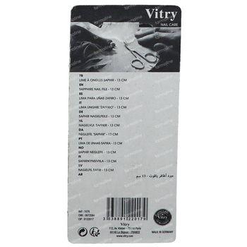 Vitry Classic Lime Ongles Inox Poche 1076 1 pièce