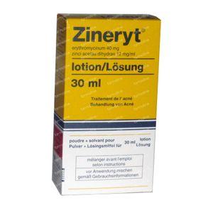 Zineryt 30 ml lotion