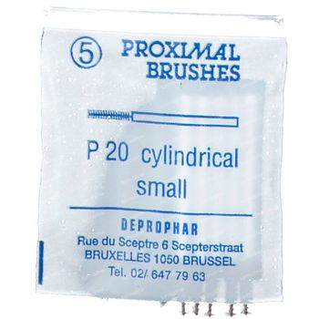 Proximal Brosse P 20 Cylindrique 5 st